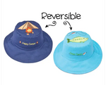 Reversible Kids' Sun Hat - Tent / Bass