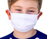 Kids' Soft Cotton Mask (Assorted Colors)