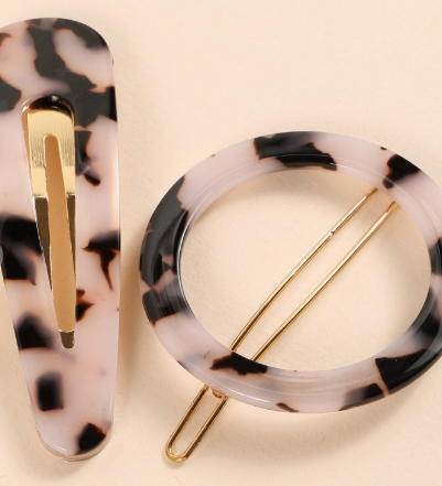 Acetate Hair Pins Set of Two