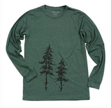 Pine Tree Long Sleeve Tee - Unisex