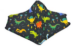 Dinosaur Kids' Mask w/ Nose Wire (Multiple Colors)