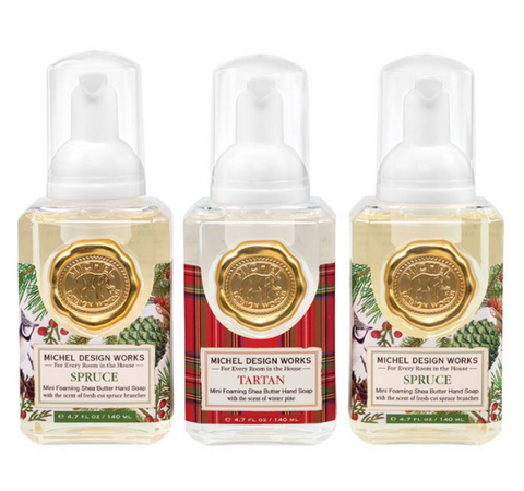 Mini Hand Soap Gift Winter Set - Spruce & Tartan