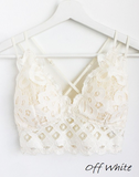 Crochet Lace Bralette (Multiple Colors and Sizes)