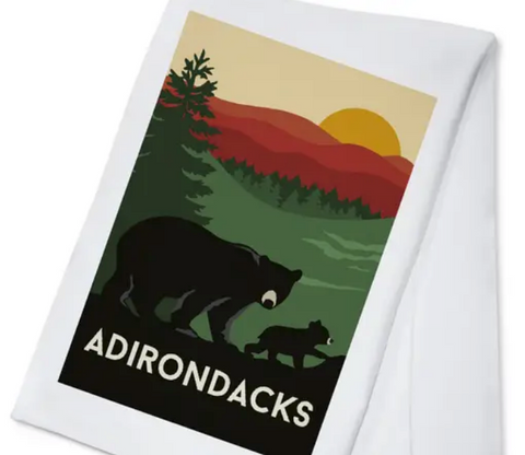 Adirondack Black Bear Towel