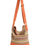 Striped Gheri Bucket Bag