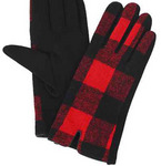 Buffalo Check Gloves