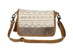 Flat Top Shoulder or Crossbody Bag