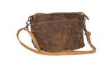 Hazel Explosion Leather Shoulder Bag