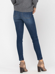 Judy Blue Button Fly High Waisted Skinny Jeans - Plus
