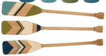 "Wood & Rope Oar - 36"" (Multiple Colors)"