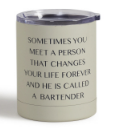 Hey Bartender Cocktail Tumbler