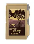 Never Camp Alone Hammock Notepad