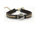 Leather Adjustable Pine Bracelet