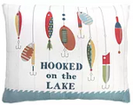 Hooked on the Lake Pillow