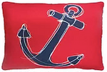 Ship's Anchor Pillow