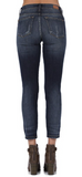 Judy Blue Relaxed Fit Skinny Jeans - Plus