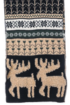 Moose Design Knit Scarf