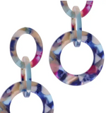 Gatecrasher Earring - Blue Multi