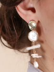 Baroque Pearl Drop Earring