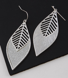 Leaf Teardrop Earrings