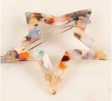 Star Acetate Hair Clip (Multiple Colors)