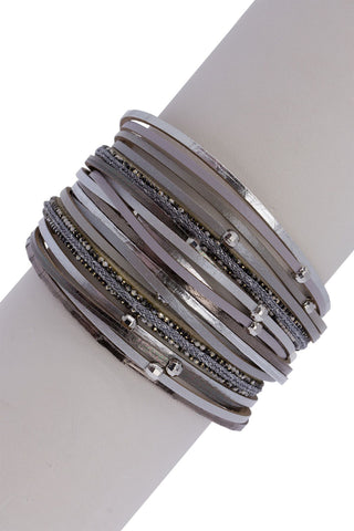 "Grey ""Looking Good"" Bracelet"