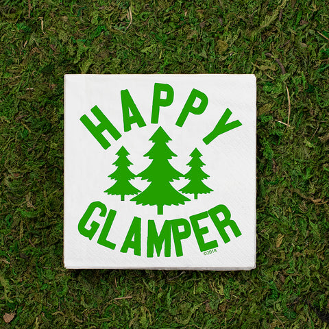 Happy Glamper COCKTAIL NAPKIN