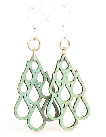 Rain Drop Blossoms Earrings