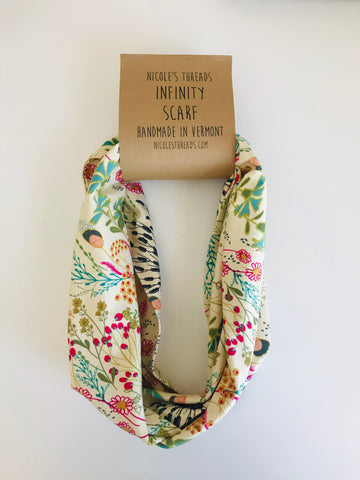 Organic Cotton Jersey Scarf - Meadow