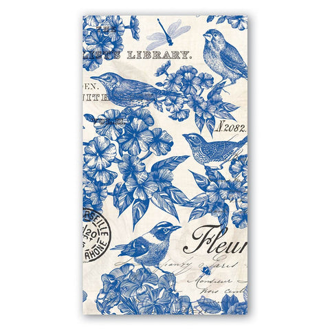 Indigo Cotton Hostess Napkin