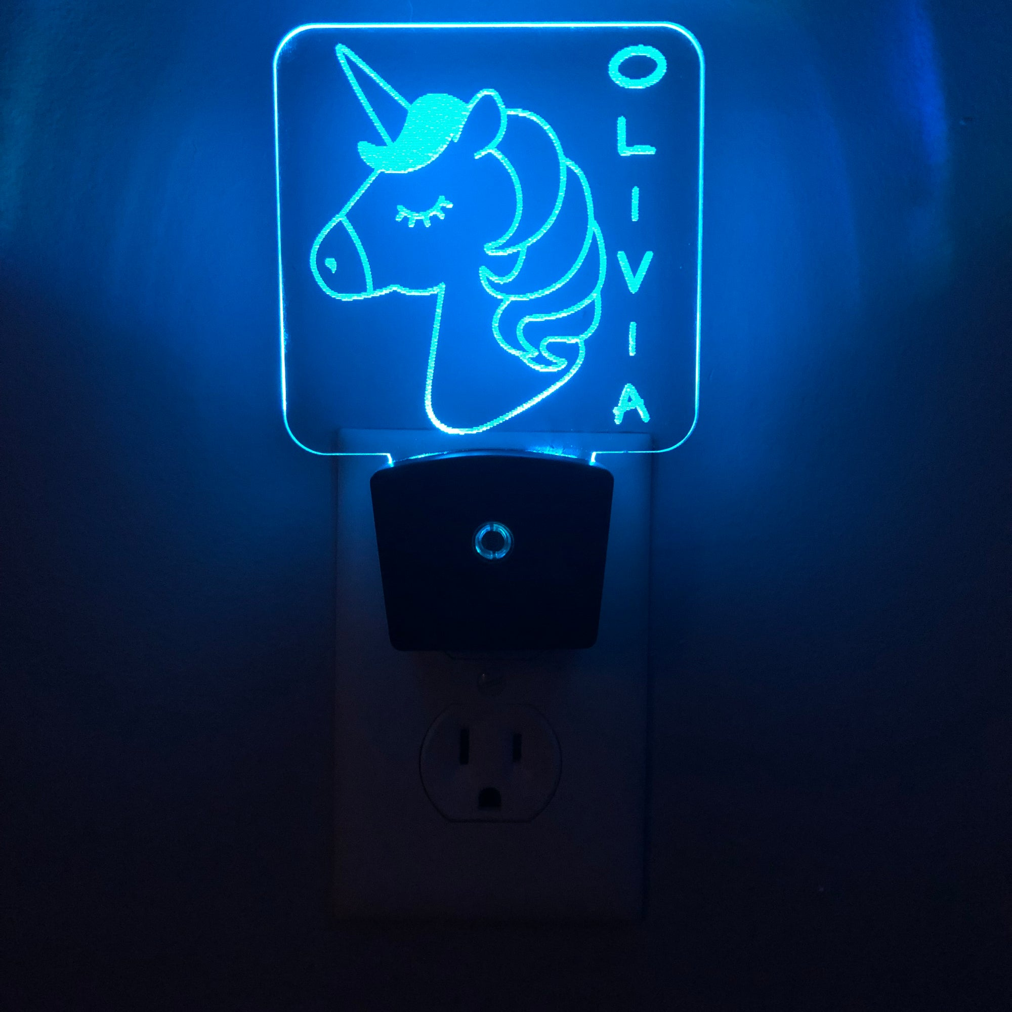 Add a Name - Unicorn Night Light - Peronalize