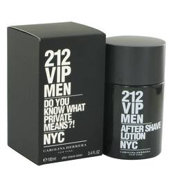 212 Vip After Shave By Carolina Herrera