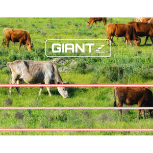 Giantz 1200M Electric Fence Wire Tape Poly Stainless Steel Temporary Fencing Kit