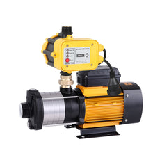 Load image into Gallery viewer, Giantz Multi Stage Water Pump Pressure Rain Tank Garden Farm House Irrigation 2000W Yellow Controller