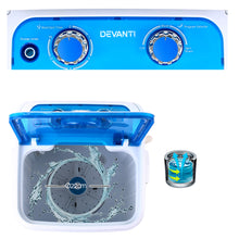 Load image into Gallery viewer, Devanti 4.6KG Mini Portable Washing Machine