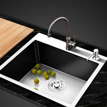 Load image into Gallery viewer, Cefito Stainless Steel Kitchen Sink 550X450MM Under/Topmount Sinks Laundry Bowl Silver