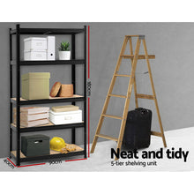 Load image into Gallery viewer, Giantz 0.9M Warehouse Racking Rack Shelving Garage Storage Steel Metal Shelves
