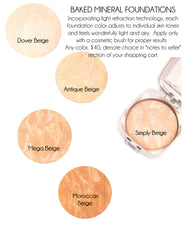 Baked Mineral Foundations