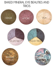 Baked Mineral Eye Beauties and Trios
