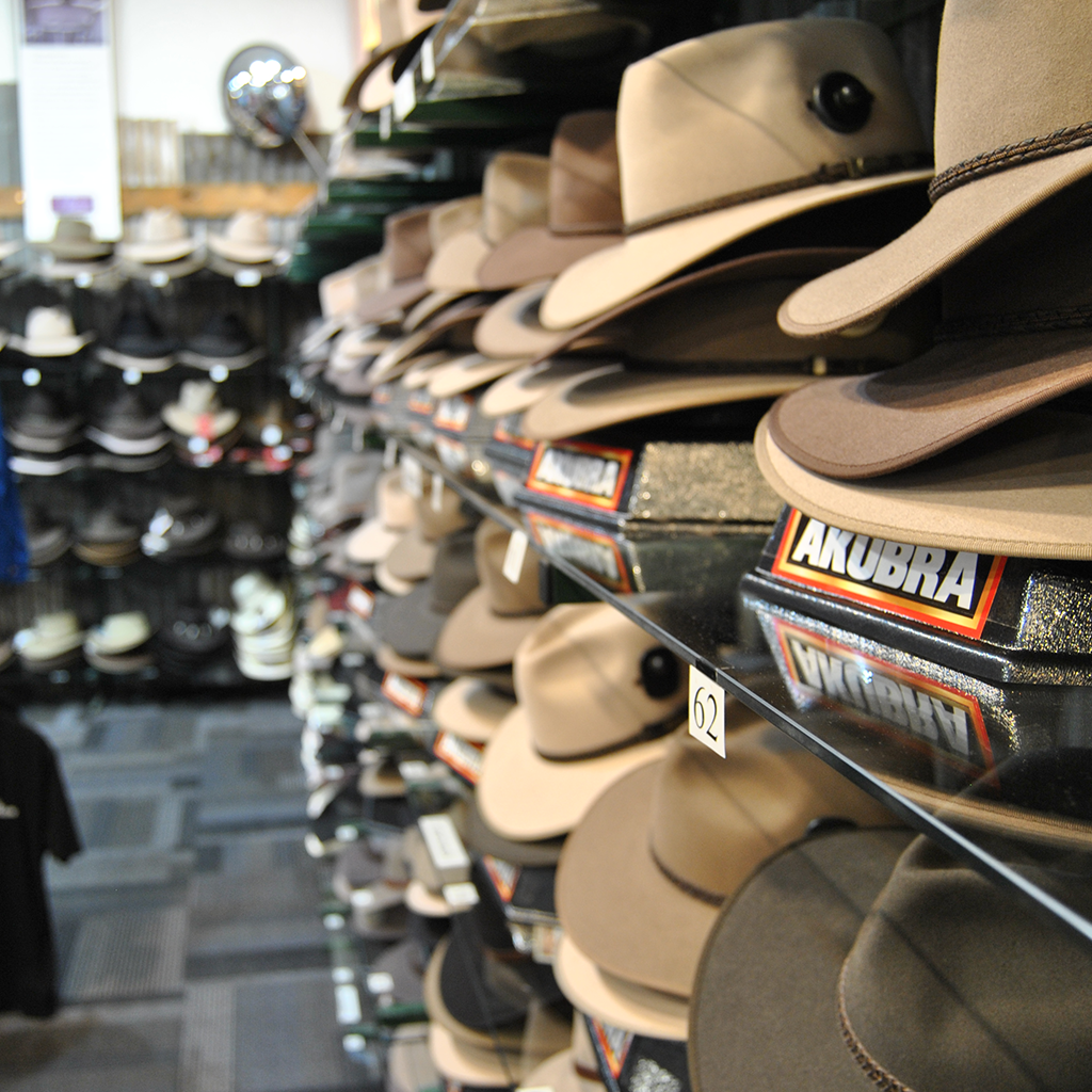 Range of Akubra Hats