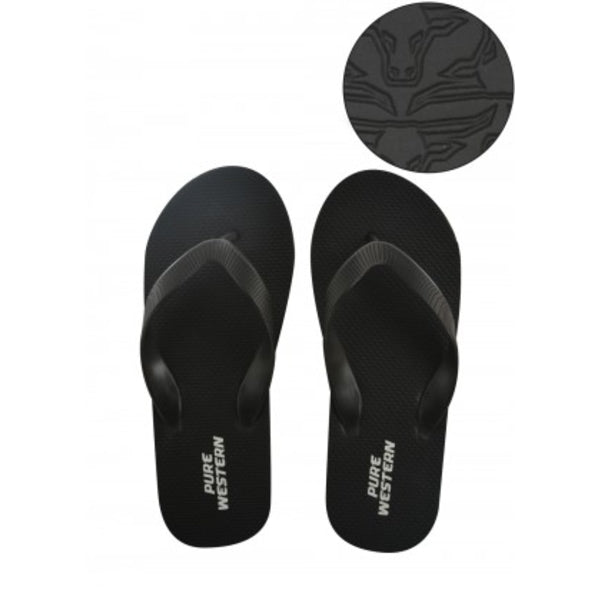 Shane - Mens Thongs Black
