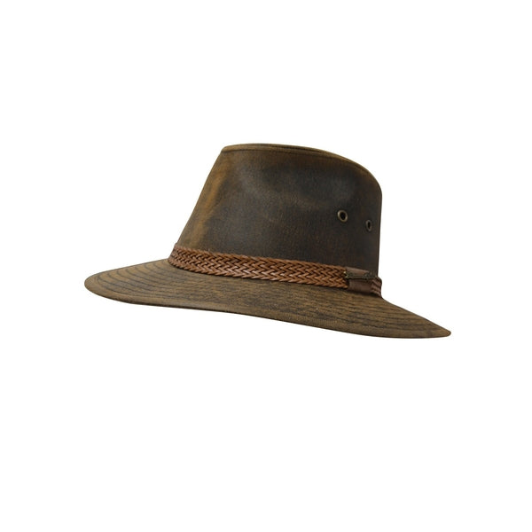 Mansfield Hat Rustic Brown