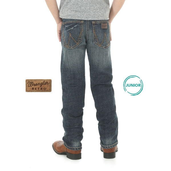 Boys Retro Slim Straight Jean Bozeman
