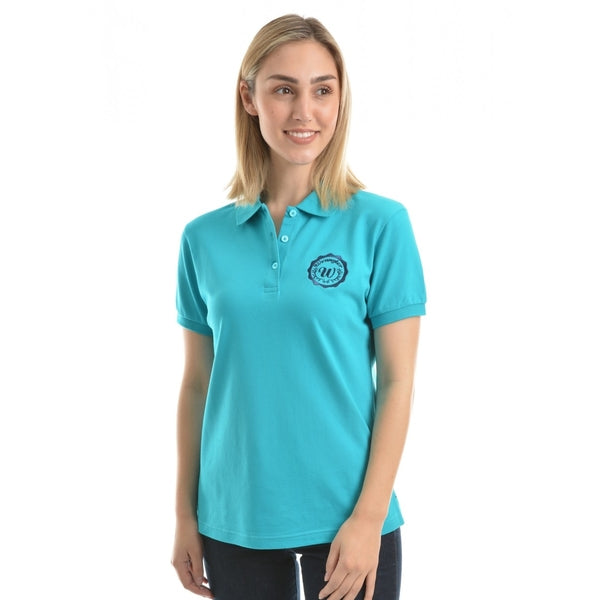 Womens Tina S/S Polo Teal