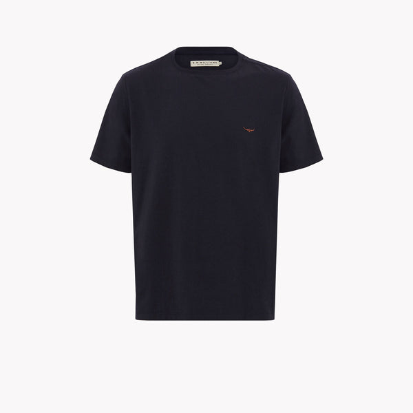 Parson T-shirt Navy/Chestnut