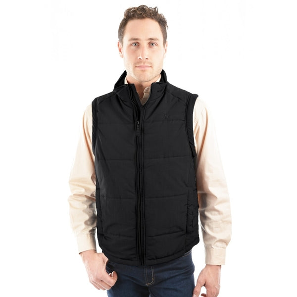 Mens Hawkesbury River Vest Black