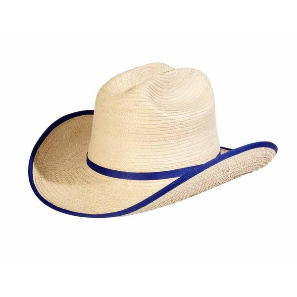 Sunbody Hats Kids Cattleman Blue Bound Edge One Size Fits All