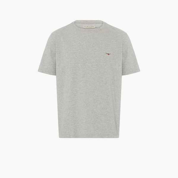Parson T-shirt Grey/Chestnut