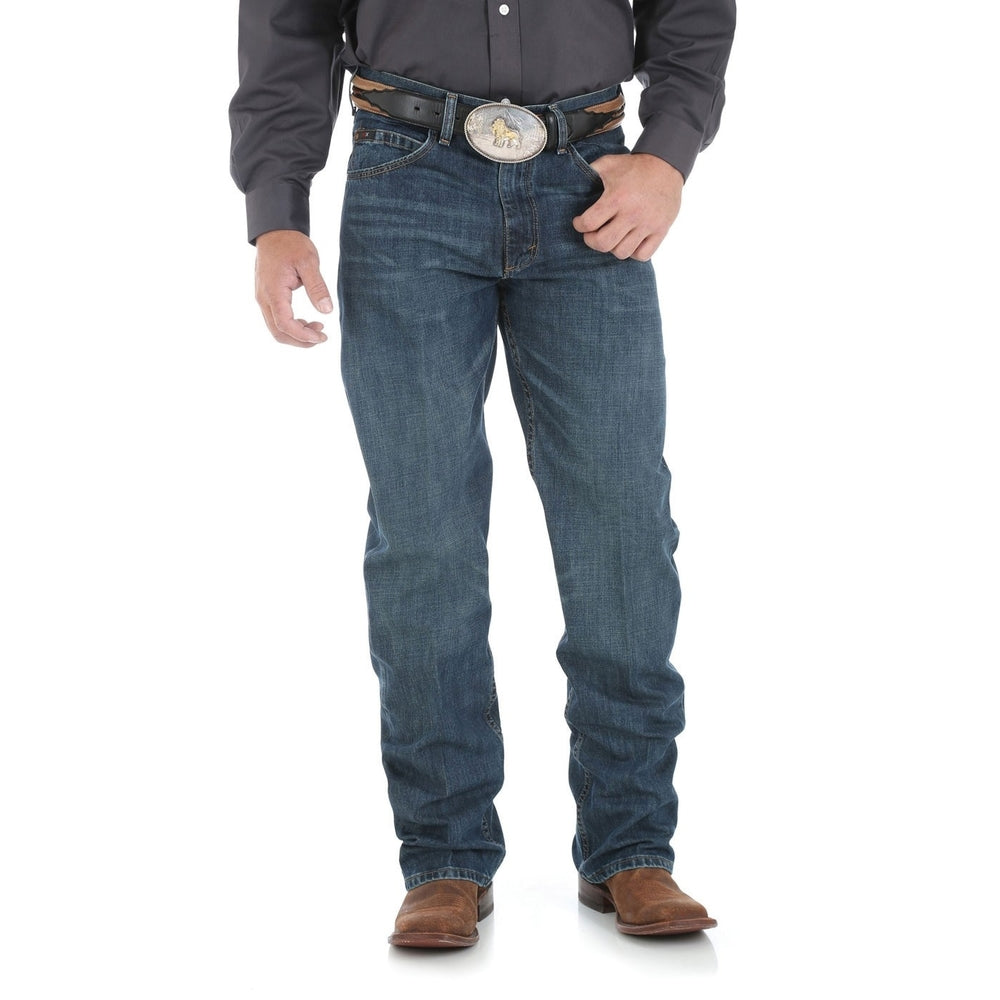 Mens 20X Competition Relaxed Jean 34Leg River Wash