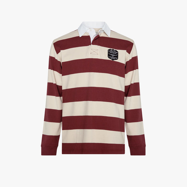 Tweedale Rugby Burgundy/Natural